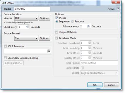 Edit/Add Source Dialog – Rascular Support Centre